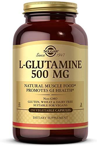 Solgar L-Glutamina de 500 mg - Envase de 250 Cápsulas