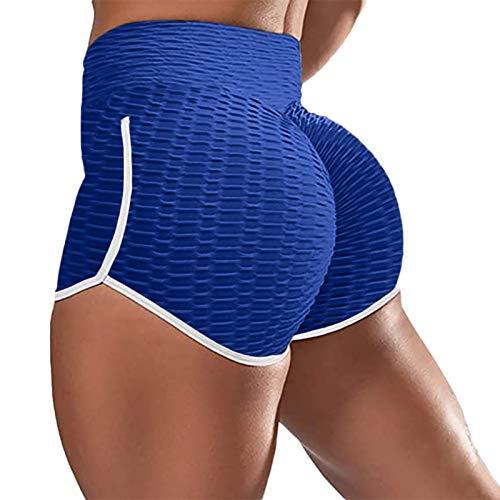 Smooto high Waist Tummy Control Yoga Pants Yoga Pants and Jacket Set for Women Yoga Pants for Women high Waist Plus Size Yoga Pants Loose fit Yoga Pants for Women Tummy Control Legging (Blue1,XXL)