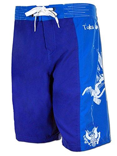 SEESTERN Herren Boardshorts Surfshort Ramones Print Boardshort Shorts XXS-3XL Dee Dee_Royalblau M