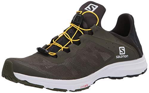 SALOMON Shoes Amphib Bold, Zapatillas de Senderismo para Hombre, Multicolor (Grape Leaf/Phantom/White)