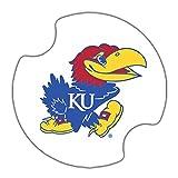 Thirstystone University of Kansas Car Cup Holder Coaster, 2-Pack