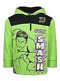 Marvel Avengers The Incredible Hulk Toddler Boys Half-Zip Pullover Hoodie 4T
