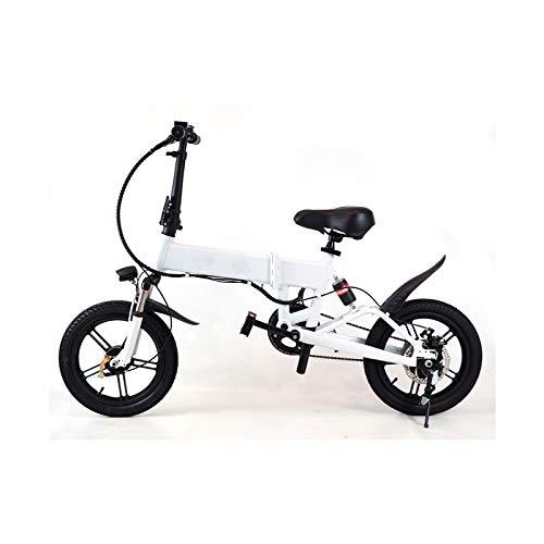 ESS WATT ESMBIKES Bicicleta eléctrica, Adultos Unisex, Blan