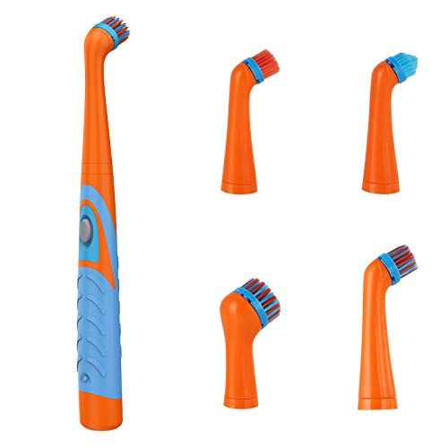 Soapow Super Sonic Scrubber Limpieza Eléctrica 4 en 1 Cepillo de Limpieza...