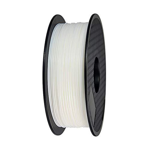 HONGMANLIANCHUANG 3D Printer Filament PETG 1.75mm 1kg 3D PRINT FDM White