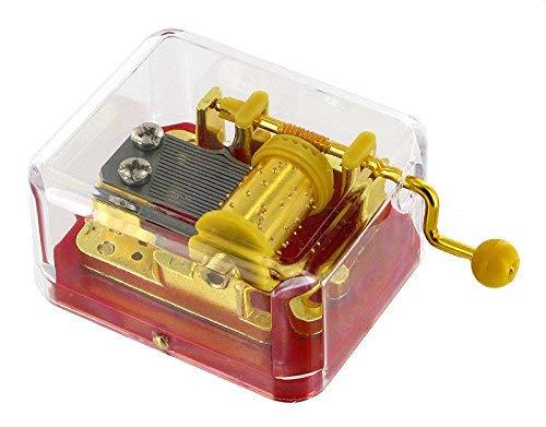 Caja de música / caja musical de manivela de alta calidad - La Marcha Imperial -...