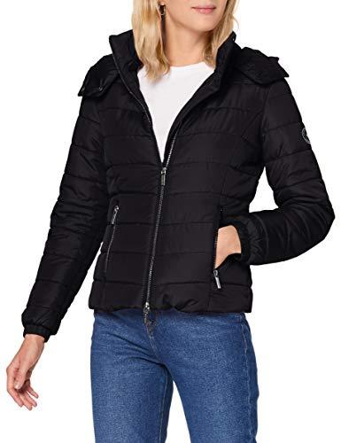 Armani Exchange Jacket Chaqueta, Black, L para Mujer