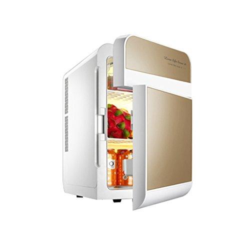 Cqq Auto Kühlschrank 20L 12V DC 220V AC Kühlschrank Auto Kühlschrank Mini Kühlschrank Kleiner Kühlschrank zu Hause Mikro Auto Dual-Use-Kühlschrank