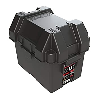 NOCO HM082BKS Group U1 Snap-Top Battery Box for Mobility and Lawn and Garden Batteries Black