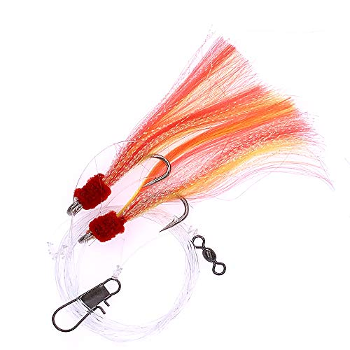 Shrimp Fly Rigged - Size 5/0 - Yellow/red - 10 Packs - Item # 376