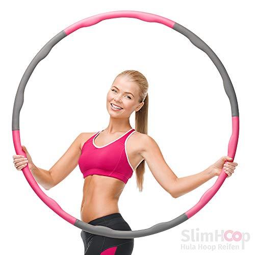 baaboo basics SlimHoop Hula Hoop Reifen zum Abnehmen - Hula Hoop Reifen für Erwachsene und Kinder | Das perfekte Fitness Gadget für jedes Homeworkout (1)