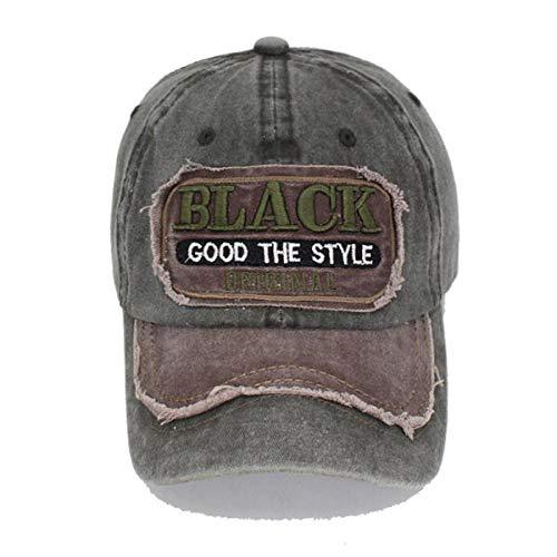 CapHerren Kappe Baseball Cap Männer Snapback Caps Frauen Black Dad Hüte Für Männer Trucker Male Vintage Hut Cap Greencoffee
