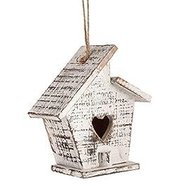 Dibor Wooden Bird House Spring Gardening Gift Nest Box (BW31)