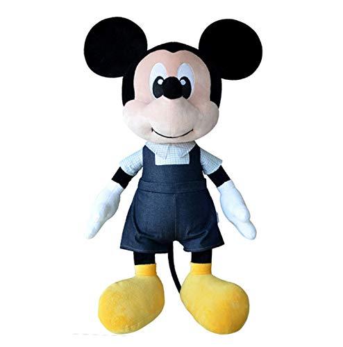agzhu 50 cm Mickey Mouse Juguetes de Peluche muñecas Lindo Suave Peluche niños cumpleaños