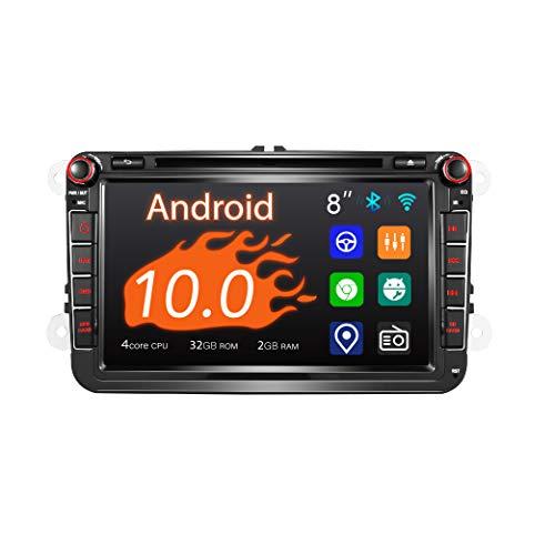 Amaseaudio Android 10 Autoradio, 2 Din für VW, 8