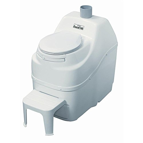 No Water No Electricity Portable Composting Toilet for Camping With Foot Rest