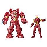 Hasbro Marvel Avengers - Figura Mech Strike de súper héroe de 20 cm - Iron Man con Armadura Definitiva - Edad: 4+