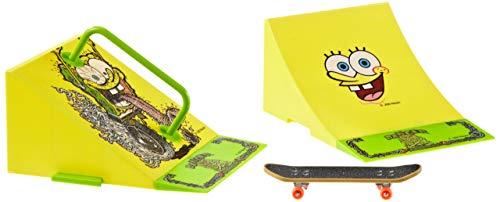 Simba 109498478 - Sponge Bob, Mini Skateboard Park, inklusive Mini-Skateboard (sortiert, 1 Stück)