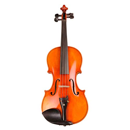 Ning Night High-End Gemusterte Violine, Golden Yellow, Ebenholz-Zubehör, High-End Piano Fall, Golden Yellow, Handgemachte, Handgemachte Farbe