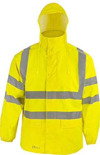 Asatex Prevent Warnschutz-Regenjacke RJG, Gelb, XL