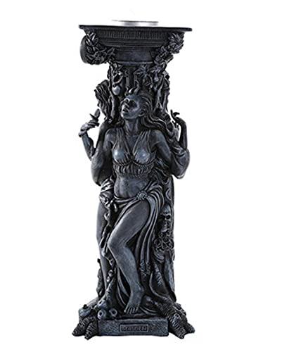 Goddess Of The Trinity Candle Holder