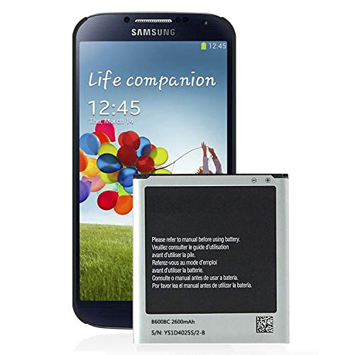 Galaxy S4 Battery,Cleantt 2600mAh Li-ion Battery Replacement for Samsung Galaxy S4, AT&T I337, Verizon I545, Sprint L720, T- Mobile M919, R970, I9500, I9505, Galaxy S4 LTE I9506