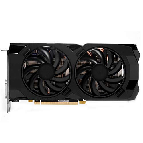 Tarjeta Grafica Fit For XFX RX 470 4GB Tarjeta De Gráficos 256bit Gddr5 4GB Tarjeta De Gráficos De Computadora AMD Tarjeta De Gráficos Radeon Compatible con La Placa Base X79