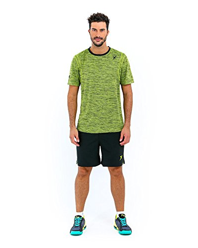 DROP SHOT Camiseta Maroa Hombre Línea Tech 2 Verde Talla XL, Adultos Unisex, 0
