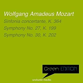 Green Edition - Mozart: Sinfonia concertante & Symphonies