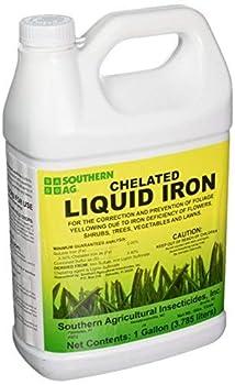 Southern Ag Chelated Liquid Iron 128oz - 1 Gallon