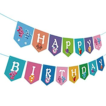 Blues Clues Birthday Banner Blues Clues Theme Party Supplies
