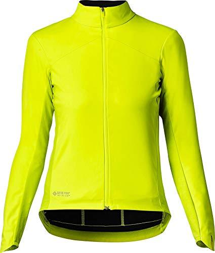 MAVIC Mistral Jacke Damen Safety Yellow Größe L 2020 wasserdichte Jacke