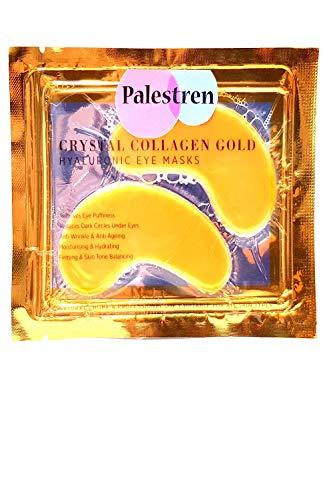 PALESTREN ® Collagen Eye Masks - 10x Pairs of Crystal GOLD Anti-Wrinkle...