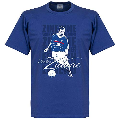 Zinedine Zidane Legend T-shirt - Royal - L