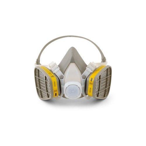 3m mascaras 3M 5203 Medium Respirator Organic Vapor Acid Gas Mask 3MR5203