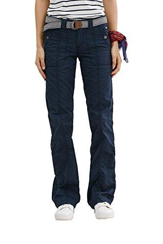 edc by ESPRIT Damen 997CC1B800 Hose, Blau (Navy 400), W32/L30 (Herstellergröße: 32/SHO)