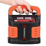 SEDOOM Cargador De Batería De Automóvil, Máquina De Reparación De Pulso De Pantalla LCD, para Camión De Automóvil 350W, Enchufe De EE. UU. 110V