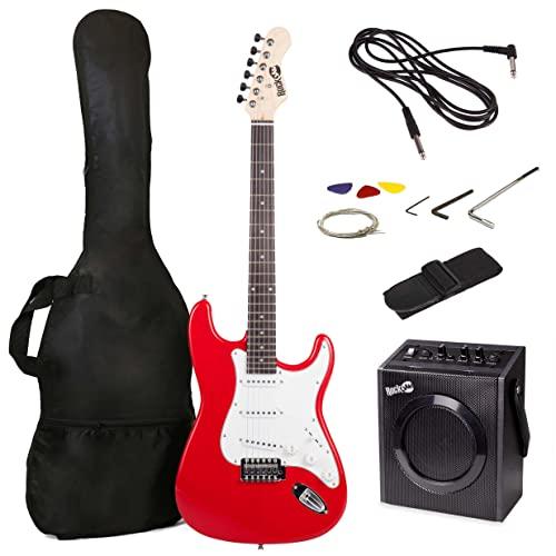 Kit de guitarra eléctrica RockJam de tamaño...