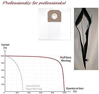 1x Sac-filtre tissus /à fermeture /éclair r/éutilisable pour aspirateur AquaVac PRO 300