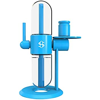 "Hookah Pipe Cookies x Stündenglass Gravity Hookah Metal Complete Set 15"" Tall with 360 Rotating Glass"