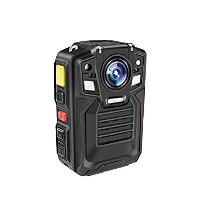 Body Worn Camera with Audio,1296P UHD, Waterproof, 2 Inch Display, Two Replaceable Batteries, Night Vision, Shockproof, IP68, 170° Wide Angle, CAMMHD Police Cameras (Built-in 32GB) from CAMMHD