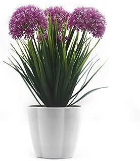 XICHEN® Planta Artificial en maceta, Hortensia&