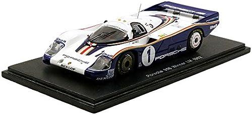 salida de fábrica Spark 43lm82Porsche 956rojohmans Winner Winner Winner Le Mans 1982 Escala 1 43, azul blanco  ventas calientes
