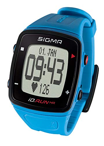 SIGMA SPORT ID.Run HR GPS Laufuhr, Pacific Blue