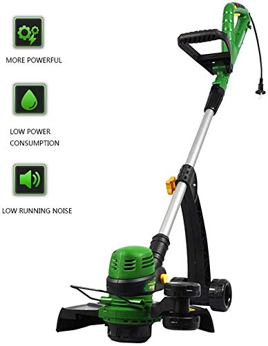 Best Prices! Hand Push Weed Eater, Electric Grass Trimmer Hand-Held Cordless Free Rotatable Telescop...