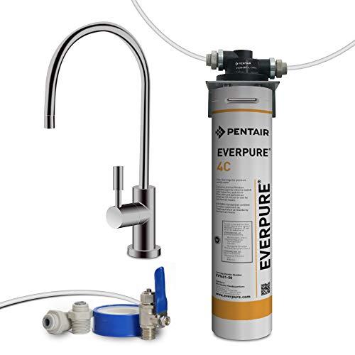 Depuratore acqua Filtri acqua shop. Filtrazione con Everpure 4C. Per migliorare l'odore e il sapore della tua acqua