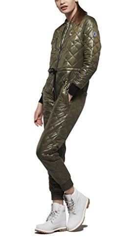 OnePiece Damen Urbanista Jumpsuit, Grün (Army), 40 (Herstellergröße: L) - 3