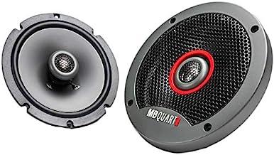 $32 » MB Quart FKB116S Formula Slim Mount Car Speakers (Black, Pair) – 6.5 Inch Coaxial Speakers, 60 Watt, Car Audio, Internal C...