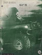 2003 BOMBARDIER ATV RALLY 200 P/N 704 100 019 SHOP MANUAL (872)