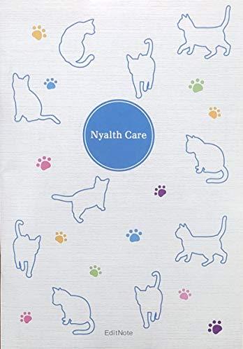 にゃるすケアノート 猫ちゃん専用の健康手帳 A5